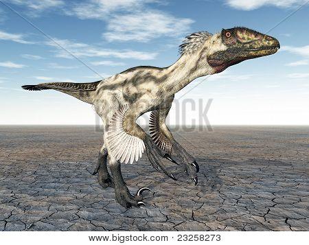 Dinosaurier deinonychus