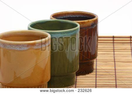 Three Coffee Cups Horizontal B