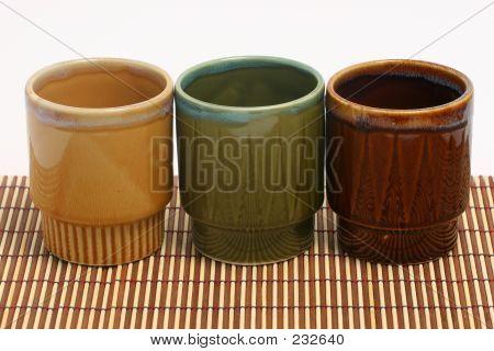 Three Coffee Cups Horizontal C