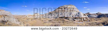 Desert Scene Panorama