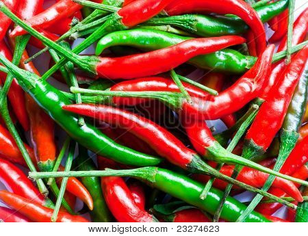 Dried Chilli Pepers
