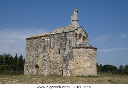Church: Chapel St Laurent, Beaucaire - France