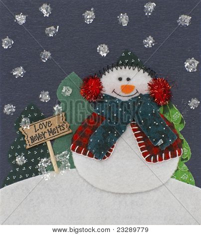 Snowman Christmas Decoation