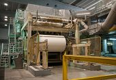 stock photo of water-mill  - Paper and pulp mill  - JPG