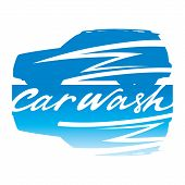 stock photo of car wash  - Car Wash clean clear service automobile sign vehicle - JPG