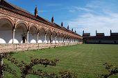 pic of carthusian  - The Certosa di Pavia or Charterhouse of Pavia  - JPG
