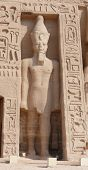 picture of aswan dam  - The temples at Abu Simbel - JPG