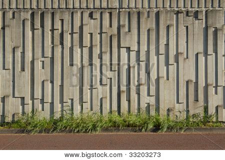 Muro prefabricado.
