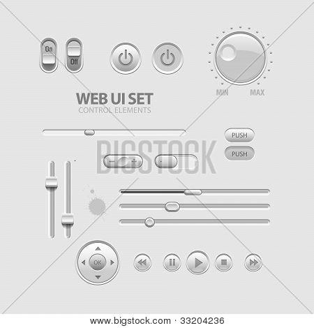 Elementos de la interfaz de usuario Web