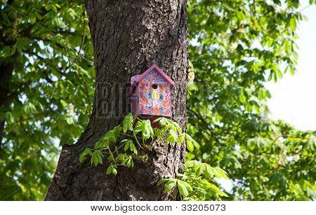 Pink Nesting Box