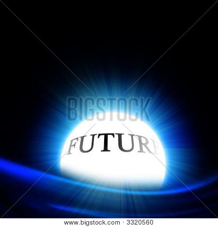 Crystal Ball With 'Future'