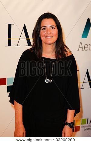 NEW YORK-MAY 17: Match.com president Mandy Ginsberg attends the IAC And Aereo Official Internet Week New York HQ Closing Party at IAC HQ on May 17, 2012 in New York City.