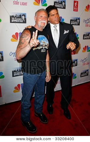 NEW YORK, NY- MAY 20: Paul Teutul, Sr. and Lou Ferrigno attend the 'Celebrity Apprentice' Live Finale at American Museum of Natural History on May 20, 2012 in New York City.