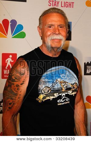 NEW YORK, NY- MAY 20: Paul Teutul, Sr. attends the 'Celebrity Apprentice' Live Finale at American Museum of Natural History on May 20, 2012 in New York City.