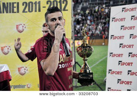 Captain of FC CFR Cluj soccer team, Ricardo Cadu