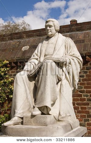 Joseph Goodall Statue, Eton