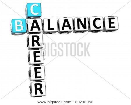 3D Career Balance Crossword