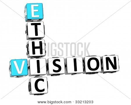 3D Ethic Vision Crossword