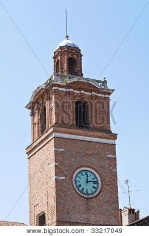Loggia dei Notai. Ferrara. Emilia-Romagna. Italy.