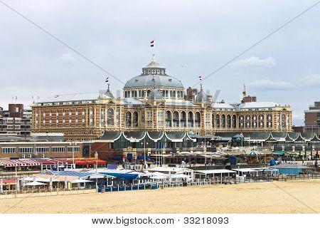 Dutch Beach Resort With Famous Kurhaus Hotel . Netherlands, Den Haag