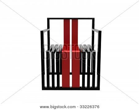 Cadeira estilo Bauhaus