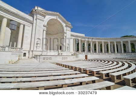 Arlington National Cemetery - Memorial Amphitheater at Tomb of the Unknowns