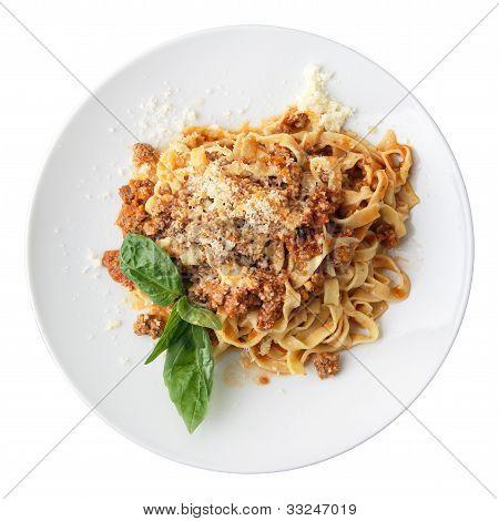 Fettuccine Bolognese