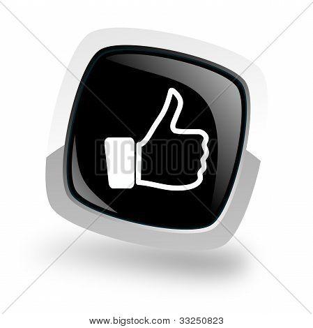 O ícone do polegar