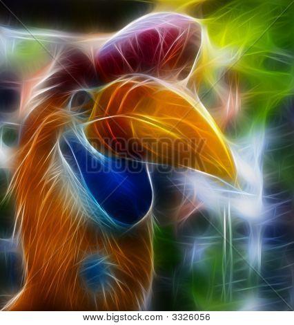 Exotic Bird Fractal