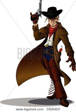 Cowboy pistoleiro