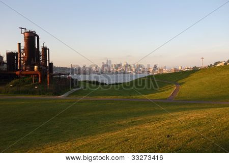 Gasworks Park, Lake Union, Seattle