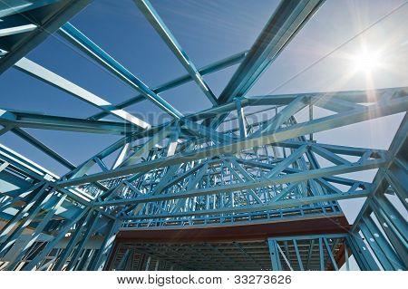 Nueva estructura de construcción de viviendas.