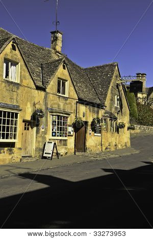 Pub of Chipping Campden, England