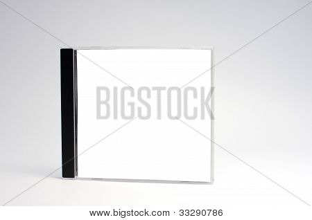 Blank Cd Case Isolated