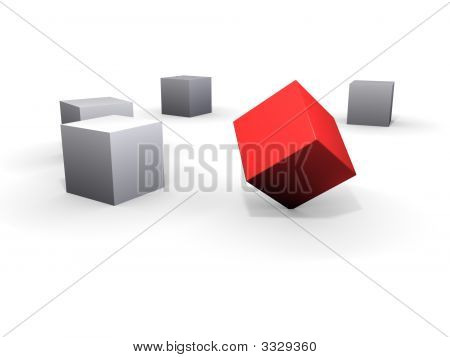 Corner Standing Box