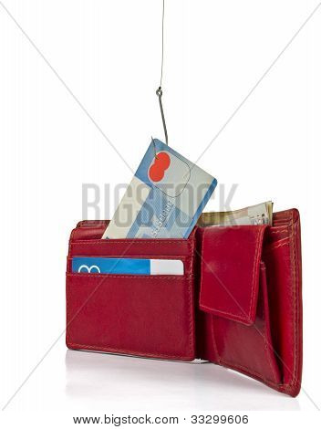 Stealing Credit Card Out Of Wallet