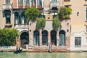 Venice Grand Canal (canal Grande). Beautiful Ancient Architecture. poster