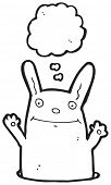 pic of rabbit hole  - funny rabbit in hole - JPG