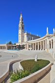 pic of fatima  - A huge tower and a marble colonnade around the square - JPG