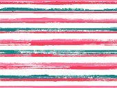Stripes Geometric Textile Seamless Vector Pattern. Original Decor Lines Pattern. Geometric Casual Pr poster