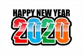 2020, Writing For 2020, For The Celebration Of The New Year, It Could Also Be For 2020 Candidates. poster