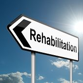Rehabilitation-Konzept.