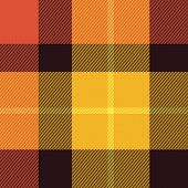 stock photo of tartan plaid  - Tartan Scottish plaid material pattern texture design - JPG