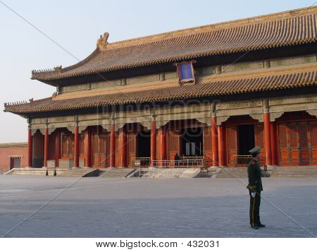 poster of Guard In Forbidden City