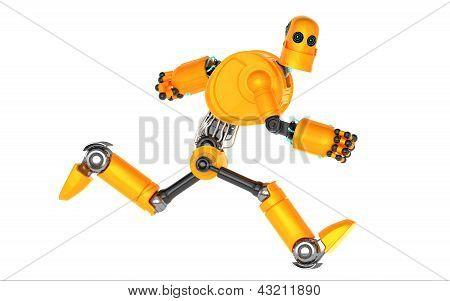 Robot funcionando