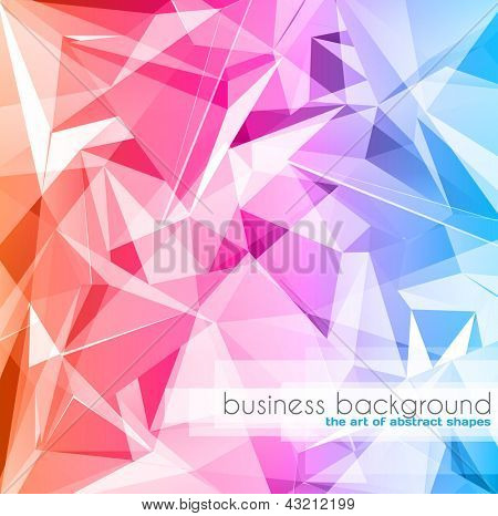 Elegant business card design template - Ideal for corporate card background or modern brochure covers.