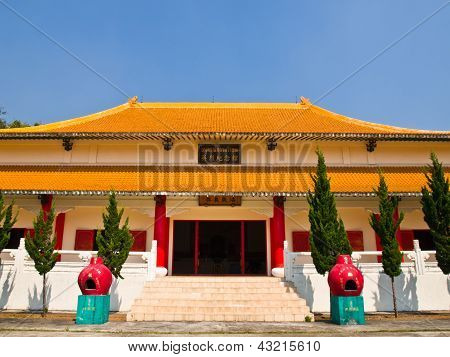 Chinesische Architektur auf Mae Salong Hill, Chiang Rai, Thailand