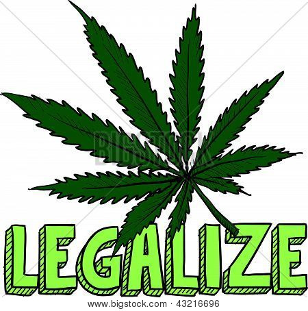 Marijuana legalization sketch