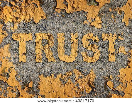 Verlieren Vertrauen