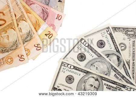Photo of Real-Dollar exchange